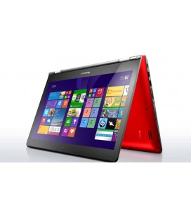 LENOVO Maroc YOGA 500-14 Intel Core I3-5020U 4Go 500Go+8Go SSD 14'' Tactile Windows 10 Rouge Electroserghini