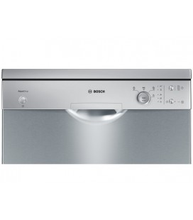 Lave-vaisselle BOSCH SMS40D18EU pose libre Inox anti traces Lavavajillas de 60 cm avec AquaStop.