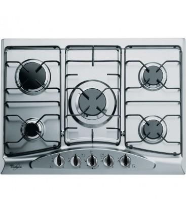 table de cuisson au gaz en inox 68 cm whirlpool akm 361 ix 01 electro serghini. Black Bedroom Furniture Sets. Home Design Ideas