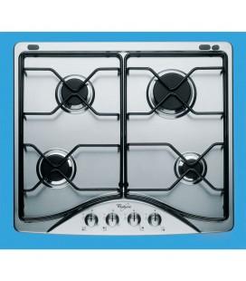 Table de cuisson au gaz en Inox 60 cm, sécurité totale AKM 521/IX/01