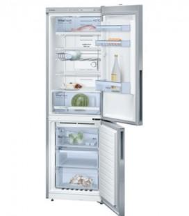Réfrigérateur combiné pose libre Portes Inox anti-trace. 186 x 60 cm BOSCH KGN36VL21