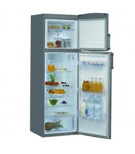 Réfrigérateur Whirlpool double porte INOX WTE3322NFX