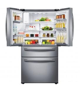 Réfrigérateur SAMSUNG de 28,15 pi³ à portes françaises avec technologie Twin Cooling Plus RF28HMEDBSR